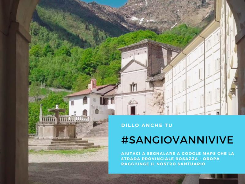 #SanGiovanniVive: ci aiuti a spargere la voce?